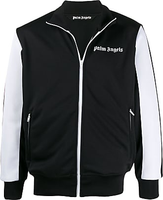 Palm Angels two-toned bomber jacket - Black