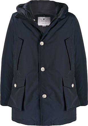 Woolrich padded hooded coat - Blue