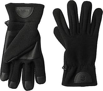 Timberland Mens Midweight Commuter Glove with Touchscreen Technology, black Medium
