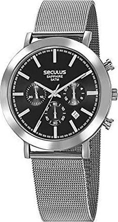 Seculus Relógio Seculus Masculino Sapphire 23660g0svna1