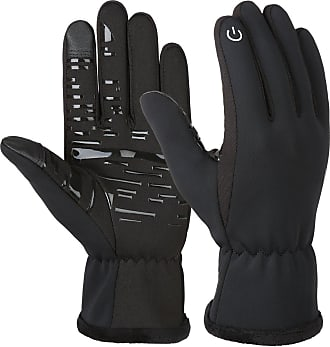 VBIGER Unisex Cycling Gloves Running Gloves Touch Screen Anti-slip Waterproof Sports Winter Gloves