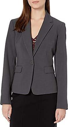 NINE WEST Womens Bi Stretch Kiss Front Jacket Shoulder Detailing