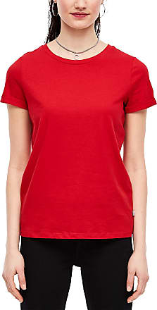 Q/S designed by Womens 45.899.32.5618 T-Shirt, Red (Flame Red 3120), Medium
