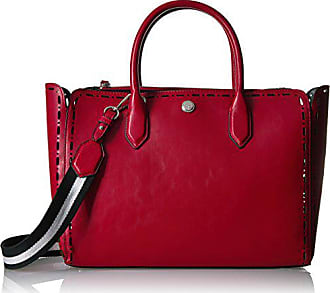 95700e958d8ec Nine West Sahara Tote, Black/Ruby red French Navy-Oxblood
