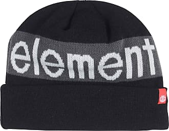 Element Mens Primo Fleece Lined Knitted Black Beanie Hat