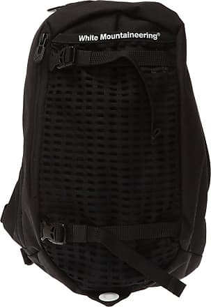 White Mountaineering One-shoulder Backpack With Logo Mens Black