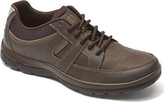 Rockport Mens Gyk Blucher Shoes, 8.5 W UK, Brown