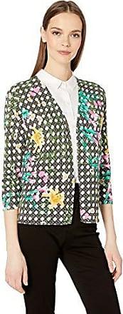 Foxcroft Silver Gray Multi Dot Long Sleeve Cardigan Sweater Women/'s Plus 1X NWT