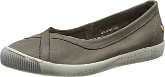 Softinos Womens Ilma Ballet Flats, Beige (Taupe), 2.5 UK 35 EU