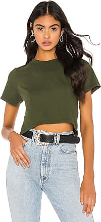 Hanes x Karla The Baby Tee in Green