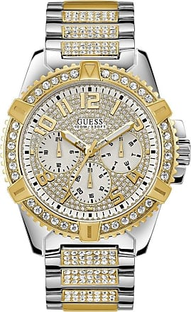 Acotis Limited Guess Watches Mens Sport Stainless Steel White Watch W0799G4