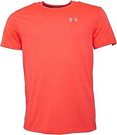 Under Armour fitted short sleeve running top with HG HeatGear and UA Threadborne technology. 1271823-963