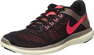 promo code 0d3d5 b84d4 Nike 830751-012, Chaussures de Tennis Femme, Noir (Black Hot Punch