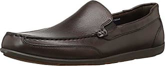 Rockport Mens Bennett Lane 4 Venetian Shoe, brown leather, 10.5 W US