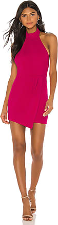 Superdown Tamara Halter Mini Dress in Pink