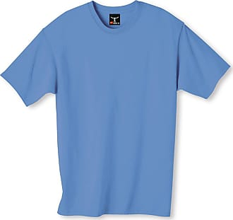 Hanes Beefy-T Mens Short-Sleeve T-Shirt - Best-Seller, 5180, L, Teal