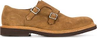 Eleventy suede monk shoes - NEUTRALS