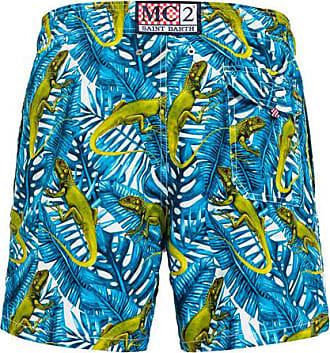 MC2 Saint Barth hurupi print gustavia swim shorts