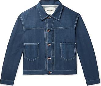 Story mfg. Sundae Organic Selvedge Denim Jacket - Indigo