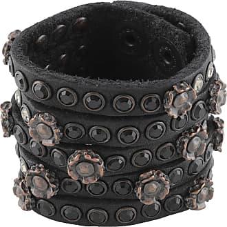 verfügbar neuer Lebensstil sehr günstig Lederarmbänder in Schwarz: 105 Produkte bis zu −50% | Stylight