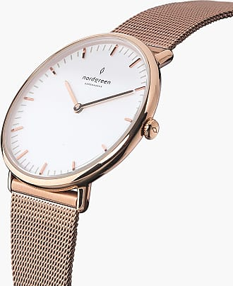 Nordgreen Native - Rose Gold | Rose Gold Mesh - 36mm / Rose Gold