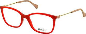 Kipling Óculos de Grau Kipling KP3105 F591 Vermelho Translúcido Lente Tam 53
