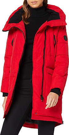 s.Oliver Womens 05.910.52.7777 Coat, Red (Scarlet 3125), 10 (Size: 36)