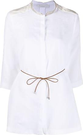 Fabiana Filippi 3/4 sleeve shirt - White