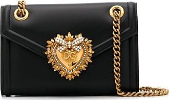Dolce & Gabbana Bolsa transversal Devotion mini - Preto