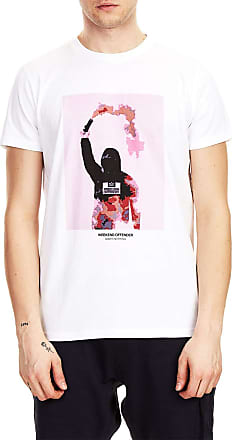 Weekend Offender Flare Printed T-Shirt White - L