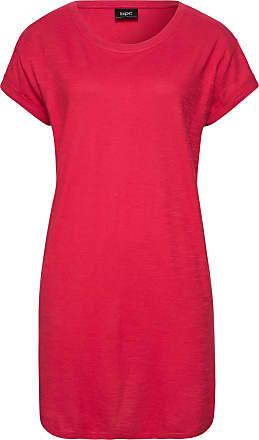 d65b9881619967 Bonprix Boxy-Longshirt mit kurzen Ärmeln Flügelärmel in rot von bonprix