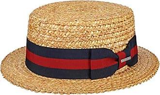 Stetson Rocaro Fedora Panamahut Bogarthut Strohhut Panamastrohhut Sommerhut Sonnenhut Herren Made in Ecuador mit Ripsband Fr/ühling-Sommer