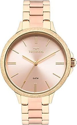 Technos Relógio Feminino Technos Analógico 2035MMB/4T Ouro