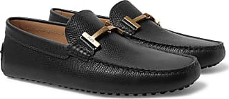 Tod's Full-grain Leather Driving Shoes - Black