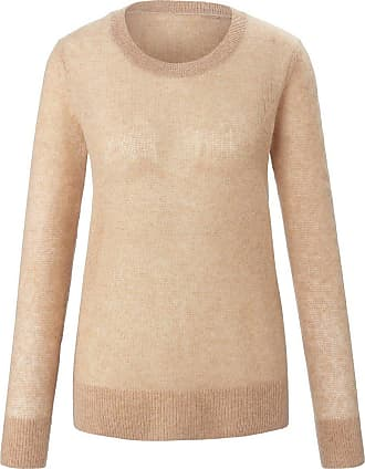include Rundhals-Pullover include beige