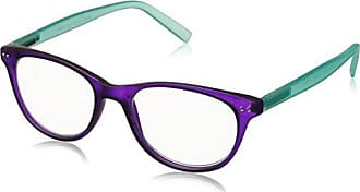 Peepers Womens Style Nineteen 2284200 Square Reading Glasses, Purple, 49 mm
