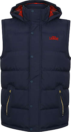 Tokyo Laundry Mc Crooke Mens Gilet in Midnight Blue S