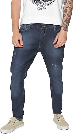 09c5b6bd7 Fatal Surf Calça Jeans Fatal Surf Skinny Estonada Azul