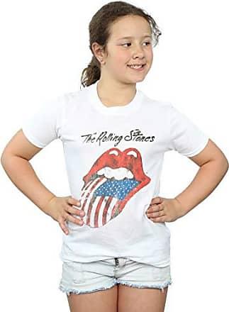 Rolling Stones M/ädchen American Tongue Sweatshirt