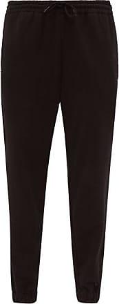 Wardrobe.NYC Wardrobe.nyc - Release 02 High-rise Cotton Track Pants - Womens - Black