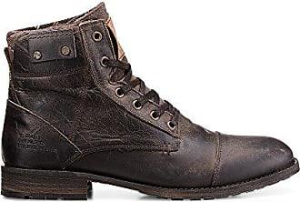 a41e38e41585 Cox Herren Winter Schnürschuh - Winterstiefel - Boots - Glattleder - hoher  Schnür Stiefel - robuste