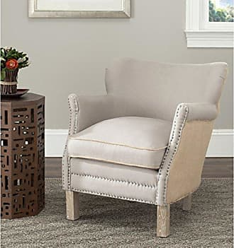 Safavieh Mercer Collection Jenny Arm Chair, Taupe/Beige