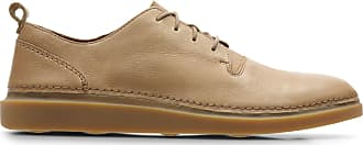 Clarks Mens Tan Leather Clarks Hale Lace Size 10.5