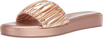 Katy Perry Womens The Lizzie Slide Sandal, Rose Gold, 4.5 UK