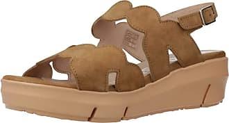 Wonders Women Sandals and Slippers Women D8232 Brown 3.5 UK