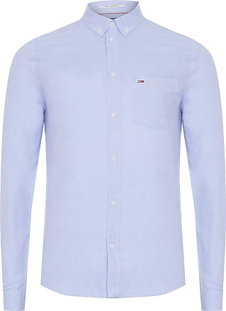 Tommy Jeans CAMISA MASCULINA OXFORD - AZUL