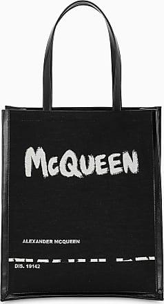 Alexander McQueen Borsa shopper nera