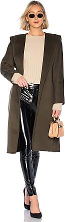L'Academie Juno Coat in Olive