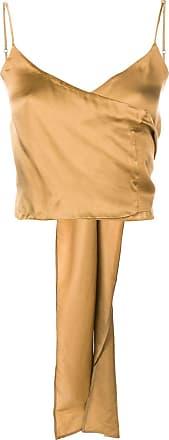 Uma Wang wrapped front top - Yellow