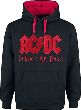 AC/DC In Rock We Trust - Kapuzenpullover - schwarz| rot